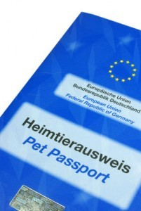 Dogge EU Heimtierausweis