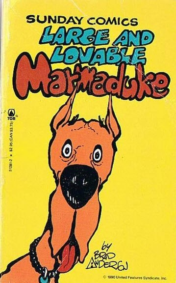 Marmaduke Comic mit Dogge