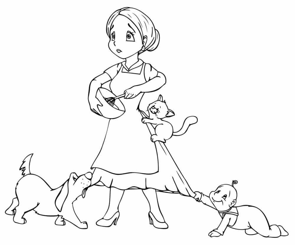 Passt die Dogge in den Tagesablauf?